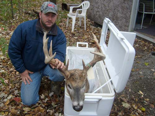 162 class buck taken on southern michigan hunting lease